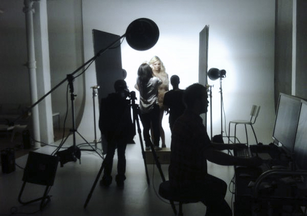 Mola spotted: Andrej Pejic Fashion magazine cover shoot