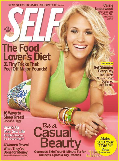 Mola spotted: Carrie Underwood for SELF Magazine