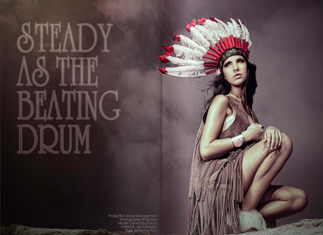Mola user: Emily Soto - Steady as the Beating Drum shoot