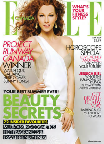 Mola spotted: Elle Canada