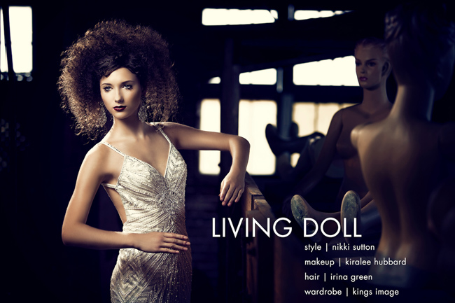 Mola user: Polina Osherov - Living Doll shoot