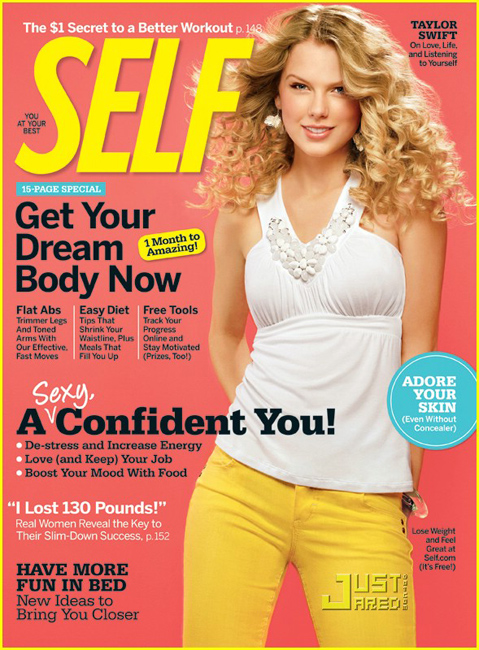 Mola spotted: Taylor Swift shoot for SELF Magazine